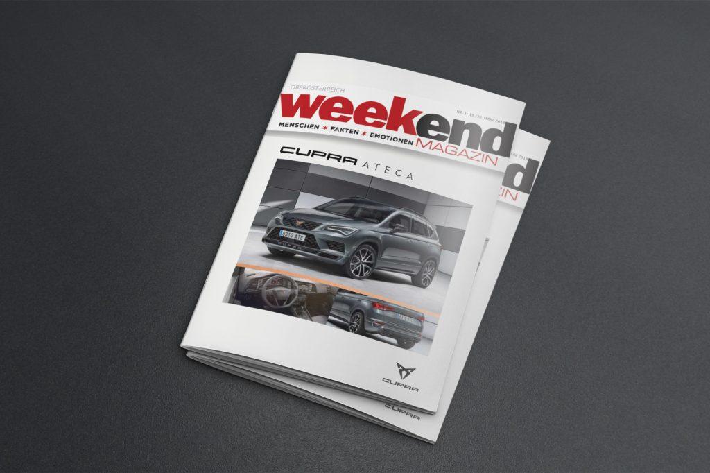 Anzeige SEAT in Weekend - Grafisches Buero
