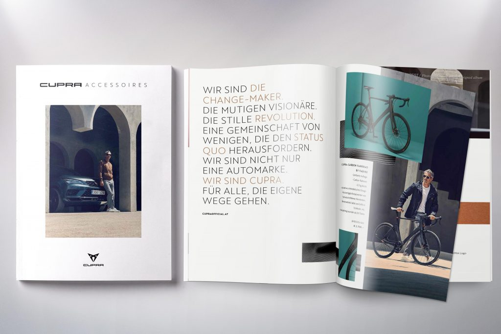 Broschüre Cupra A - Grafisches Buero