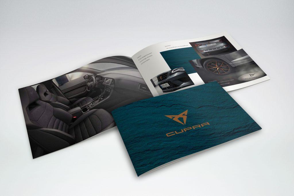 Broschüre Cupra - Grafisches Buero