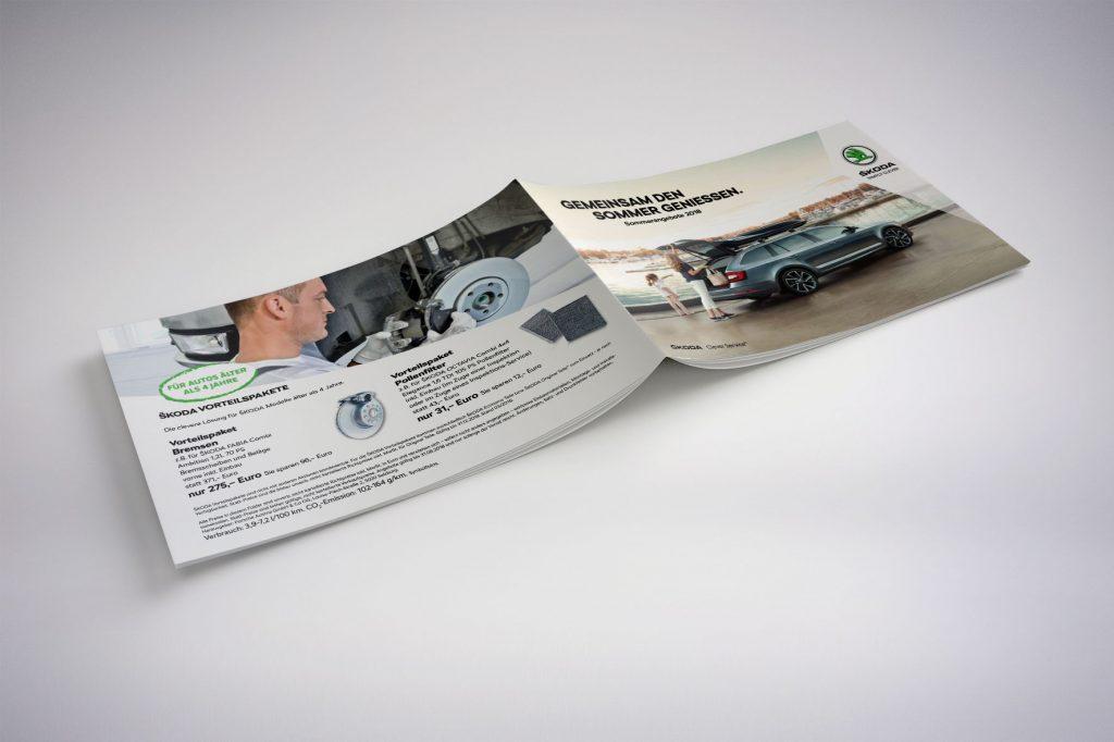 Broschüre Skoda - Grafisches Buero