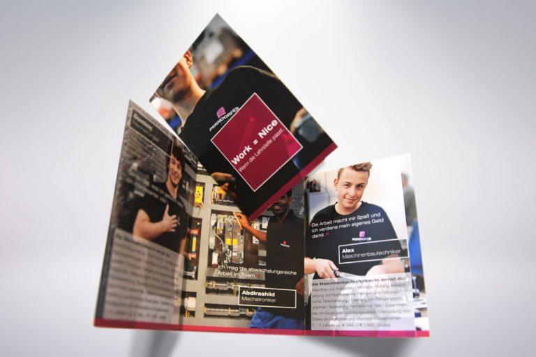 Folder Lehrlingssuche Perndorfer - Grafisches Buero
