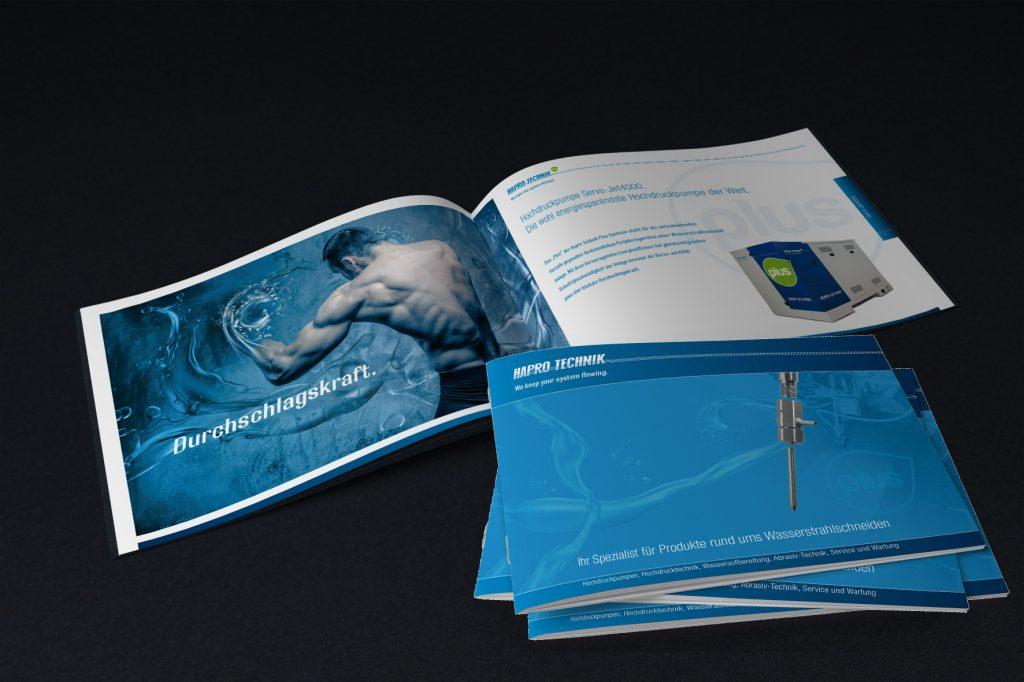 Imagefolder Hapro Technik - Grafisches Buero