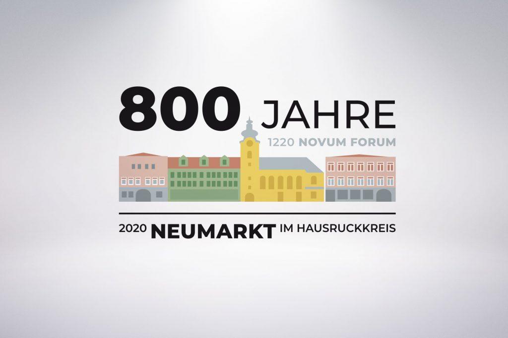Logo 800 Jahre Neumarkt/H. - Grafisches Buero