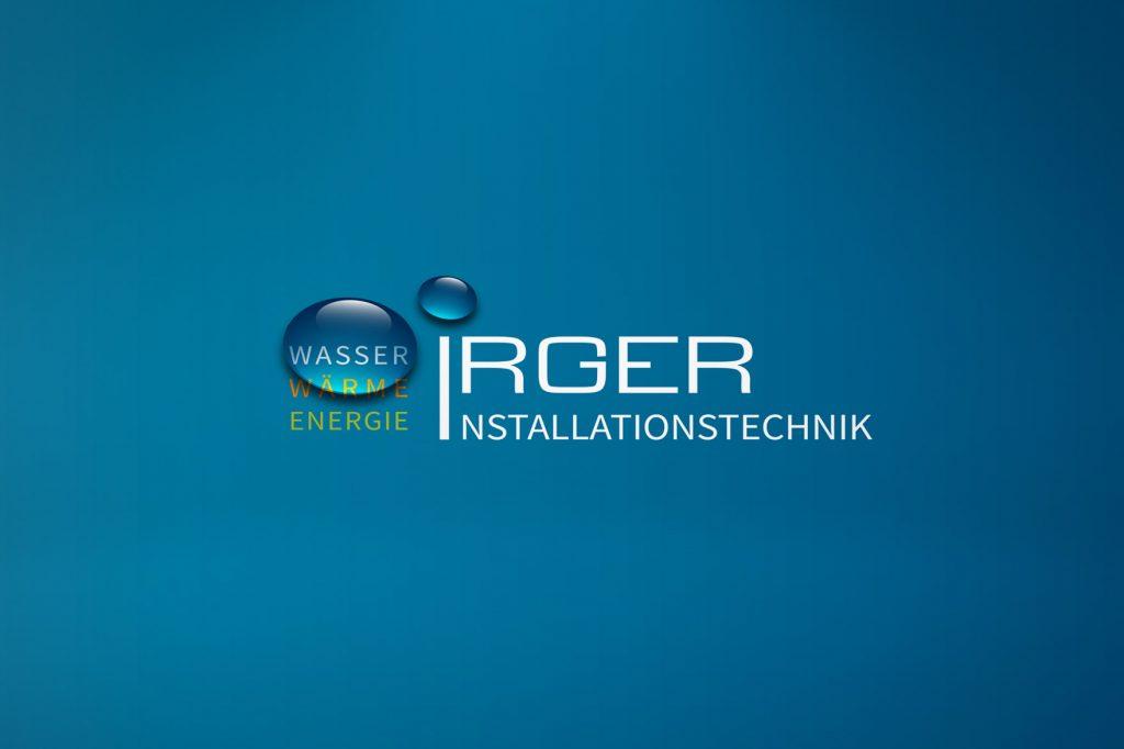 Logo Irger Installationstechnik - Grafisches Buero