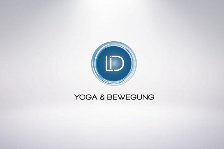 Logo Lisi Danner, Yoga und Bewegung - Grafisches Buero