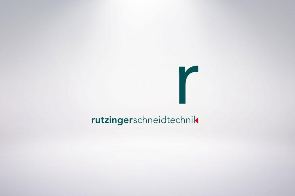 Logo Rutzinger Schneidtechnik - Grafisches Buero