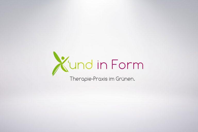 Logo X'und in Form - Grafisches Buero