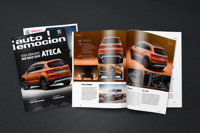 Magazin SEAT - Grafisches Buero