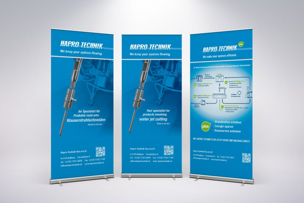 Rollup Haprotechnik - Grafisches Buero