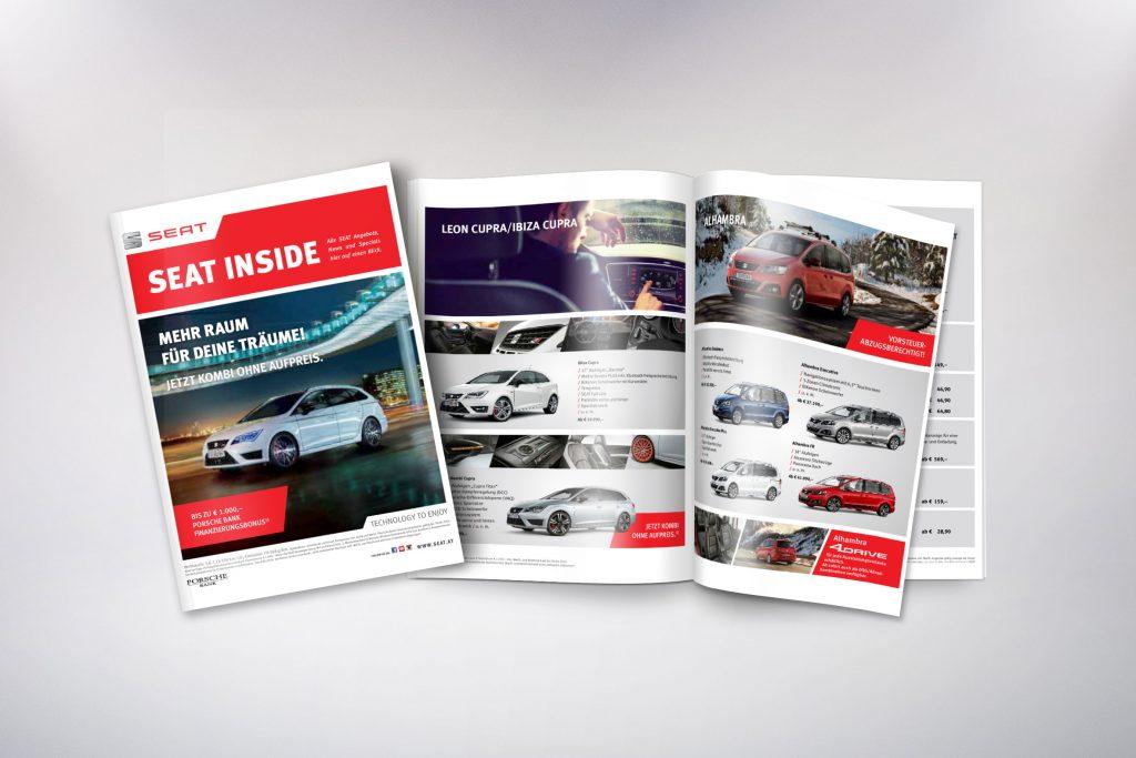 Magazin SEAT Inside - Grafisches Buero