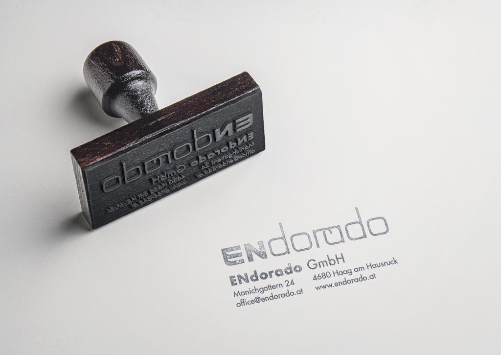 Stempel ENdorado - Grafisches Buero