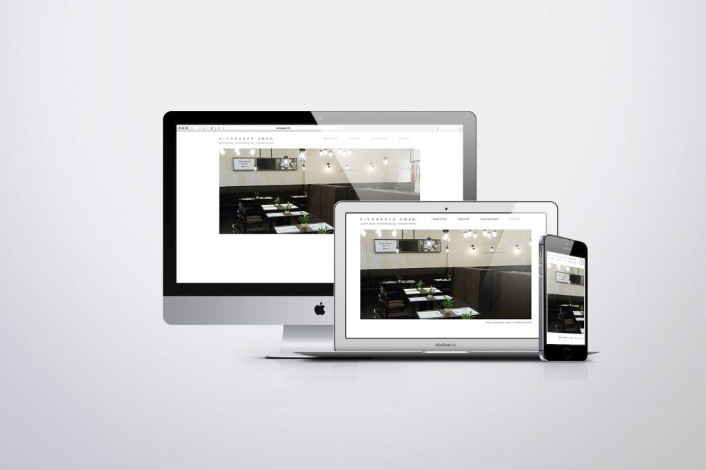 Webdesign Aichbauer - Grafisches Buero