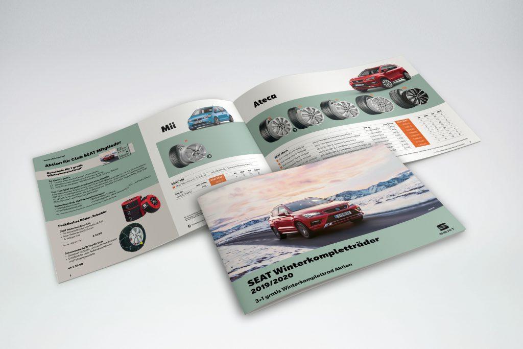 SEAT Winterreifen Broschüre