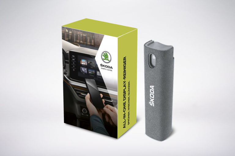 SKODA_Packaging-Display-Reiniger_Grafisches-Buero