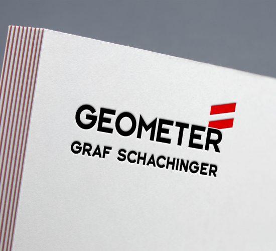 Letterpress_Geometer-Graf-Schachinger_Logo_Grafisches-Buero